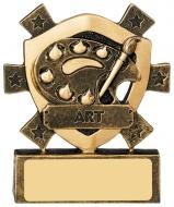Art Mini Shield Trophy Award