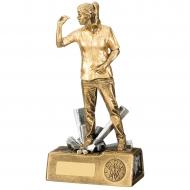 Darts Female Trophy Award