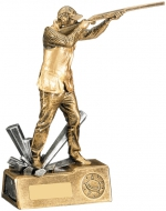 Male Clay Shooting Trophy Award