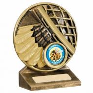 Badminton Theme Trophy Award