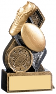 Force Rugby Award 4 inches 10cm : New 2020