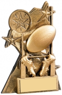 Astra Rugby Award 4.25 inches 11cm : New 2020