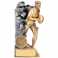 Rugby Male Breakout Award 14cm : New 2019