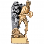 Rugby Male Breakout Award 15cm : New 2019