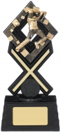 Activ8 Cricket Trophy Award 18.5cm : New 2019