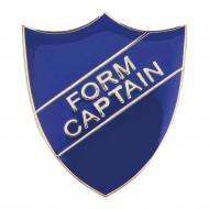 Form Captain Enamel Shield Badge Trophy Award