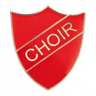 Choir Enamel Shield Badge Trophy Award