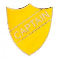 Captain enamel shield badge Trophy Award