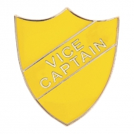 Vice Captain Enamel Shield Badge Trophy Award