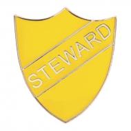 Steward Enamel Shield Badge Trophy Award