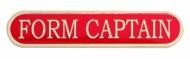 Form Captain Enamel Bar Badge Trophy Award