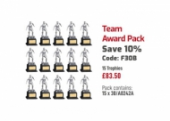 Team Award Pack 7.5 inches 19cm : New 2020