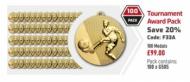 Tournament Award Pack 50mm : New 2020
