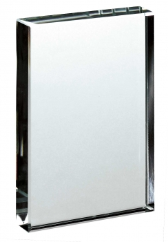 Glass Block 4.75 inches 14cm : New 2020