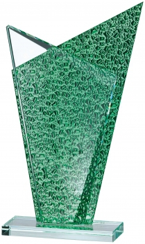 Glass Award 7.5 inches 19cm : New 2020