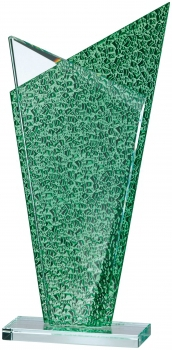 Glass Award 9.75 inches 25cm : New 2020