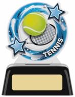 Tennis Round Acrylic Award 4.75 inches 12cm : New 2020