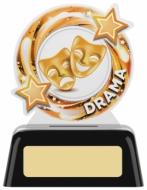 Drama Round Acrylic Award 4 inches 10cm : New 2020